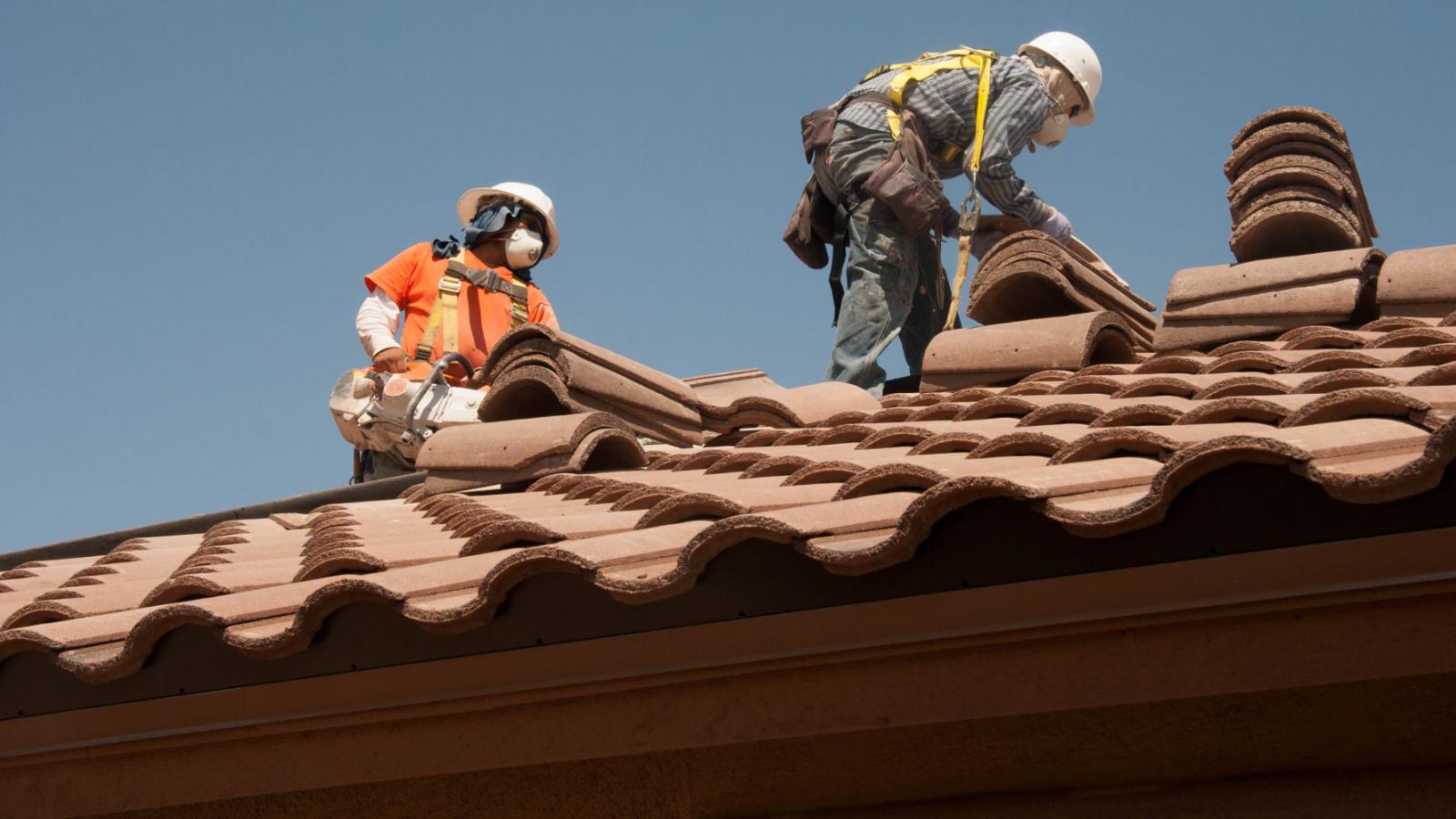 Werken op daken Dakbeveiliging