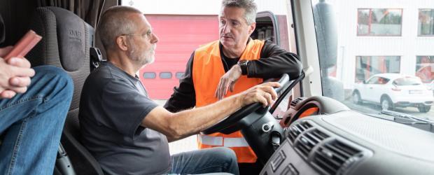 Training en coachting vrachtwagenbestuurder - Code95
